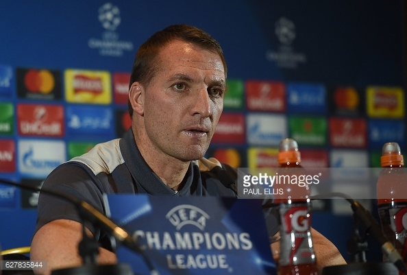 Rodgers addressed the media before Celtic's final European game. Photo: Paul Ellis/Getty
