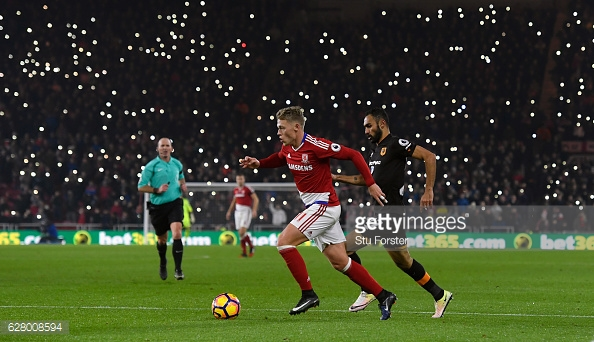 Boro dominated most of the game. Photo: Stu Forster/Getty