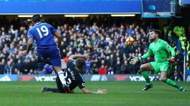 Il goal di Diego Costa, www.premierleague.com