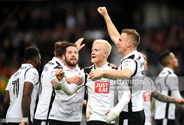 Derby County beat Forest 3-0 at Pride Park in December. (picture: Getty Images / Michael Regan)