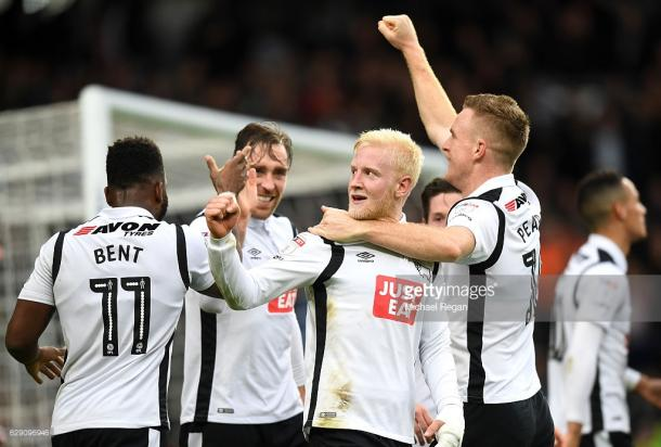 Derby got the better of Forest at Pride Park last season. (picture: Getty Images / Michael Regan)