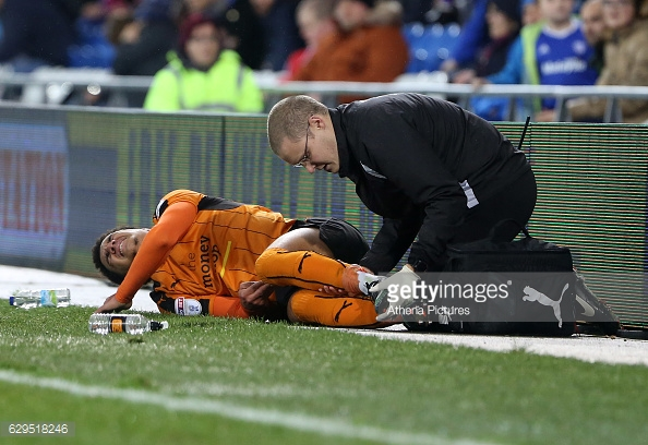Helder Costa is an injury doubt for Saturday's game.   Photo: Getty Images / Atherlia Pictures