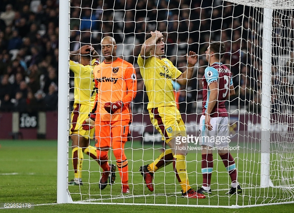 Burnley could not find the net against West Ham (photo: Getty Images)