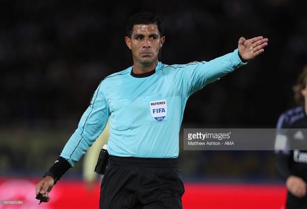 Enrique Cáceres, el experimentado árbitro paraguayo | Foto: Getty Images