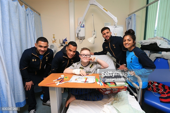 Spurs players have been busy during their 10 day break. Photo: Getty Images