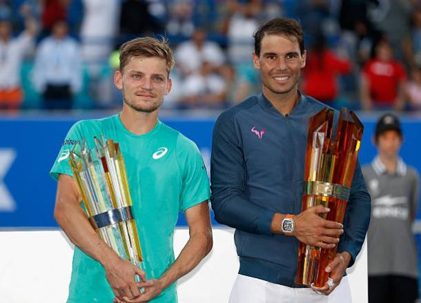 Nadal beat David Goffin to take the title in Abu Dhabi last December (Getty/Francois Nel)