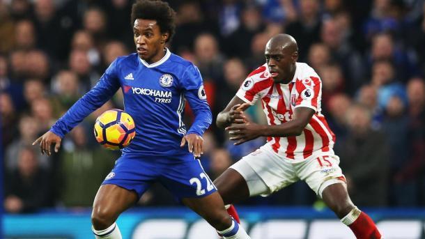 En el último choque en Stamford, Chelsea se impuso por 4-2   Foto: Premier League.