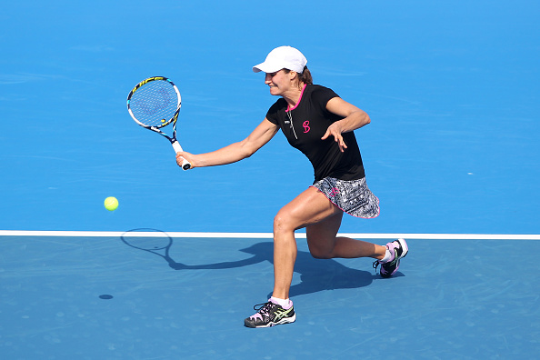 Niculescu finds her groove | Photo: Zhong Zhi/Getty Images