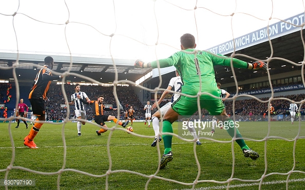Snodgrass opens the scoring (photo: Getty Images)