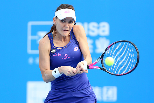 One of two former champions in the draw, Radwanska is searching for her second title here. Photo credit: Zhong Zhi/Getty Images.