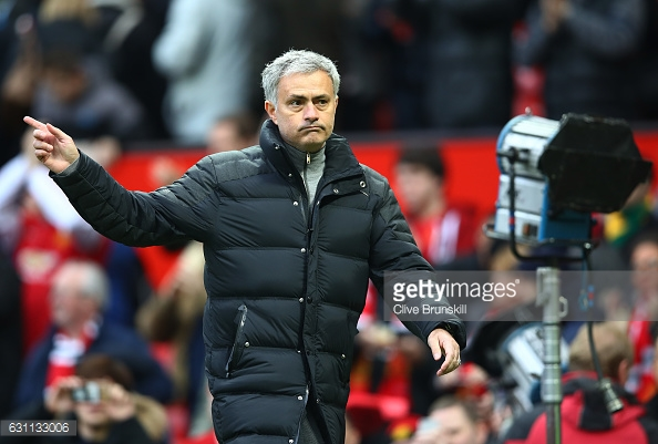 Mourinho seems to have found his feet at Old Trafford (photo: Getty Images)
