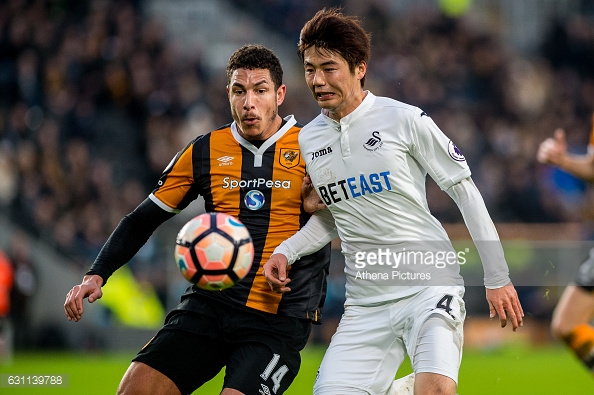 Ki looked to find space around Livermore (photo: Getty Images)