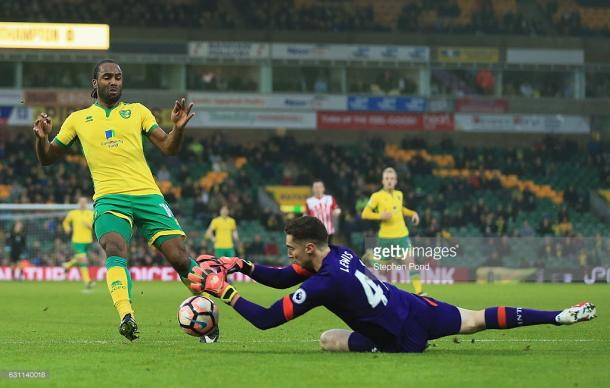 Jerome had fallen out of favour at Carrow Road. (picture: Getty Images / Stephen Pond)