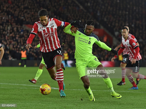 Liverpool are favourites to poach Van Dijk. Photo: Getty.