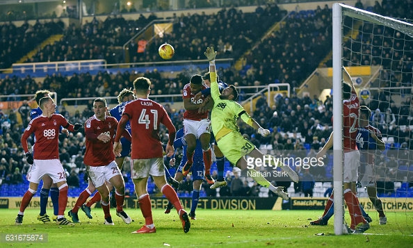 Forest drew 0-0 at Birmingham on Saturday. (picture: Getty Images / Nathan Stirk)