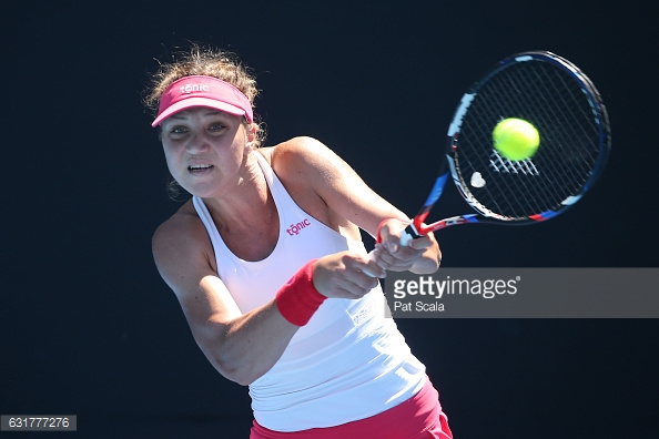 Tig picked up her level of play as the match progressed, but it still wasn't nearly enough to slow down a rampant Puig/Photo: