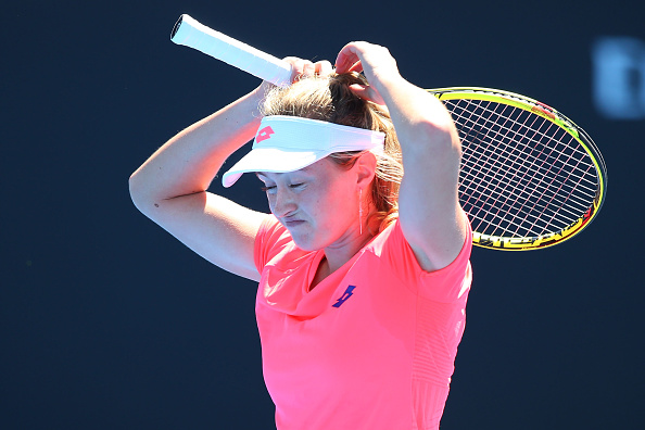 Sasnovich (pictured) could not find a way past Zhang | Photo: Michael Dodge/Getty Images