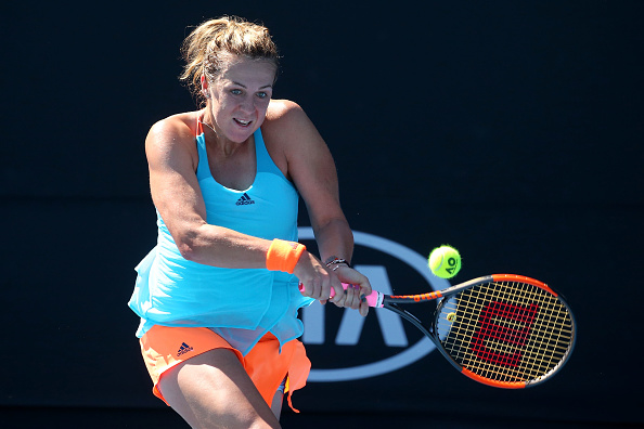 Pavlyuchenkova is into the last 16 in Melbourne for the first time in her career. Photo credit: Pat Scala/Getty Images.