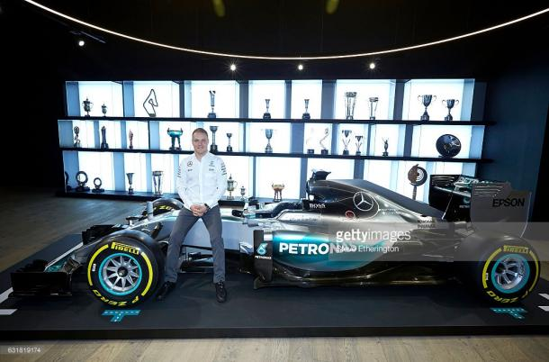 Valtteri Bottas claimed the retiring Nico Rosberg's sought after seat. | Photo: Getty Images/Steve Etherington