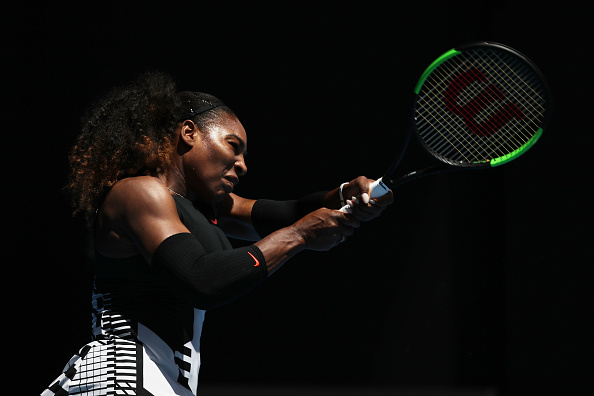 Williams cruises through the second set | Photo: Mark Kolbe/Getty Images