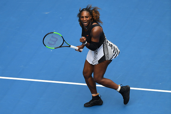 Williams takes the first set | Photo: Quinn Rooney/Getty Images
