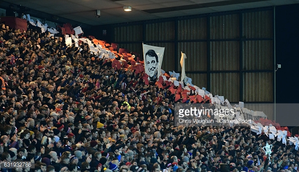 A sell-out Sincil Bank crowd paid tribute to Graham Taylor. (picture: Getty Images / Chris Vaughan - Camera Sport)