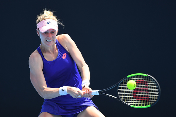 Riske grabs a tight first set | Photo: Quinn Rooney/Getty Images