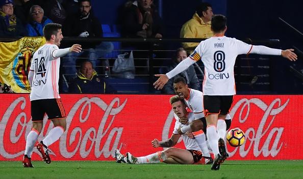 Colpaccio del Valencia che espugna il Madrigal 2-0 (Fonte foto: Mundo Deportivo)