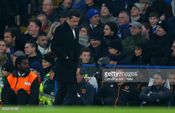 A dejected Hull manager (photo: Getty Images)
