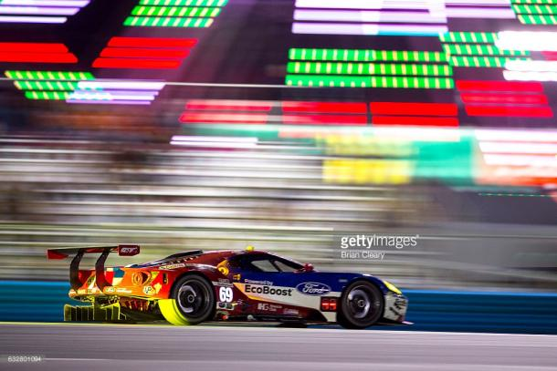 Kanaan knows the 2017 Ford GT. | Photo: Getty Images.Brian Cleary