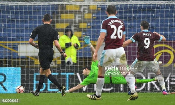 Vokes nets the opener (photo: Getty Images)