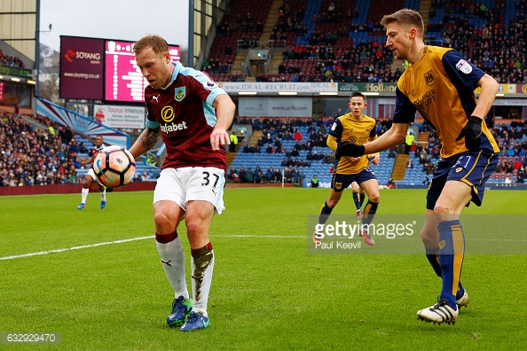 Burnley have looked confident on the ball this season (photo: Getty Images)