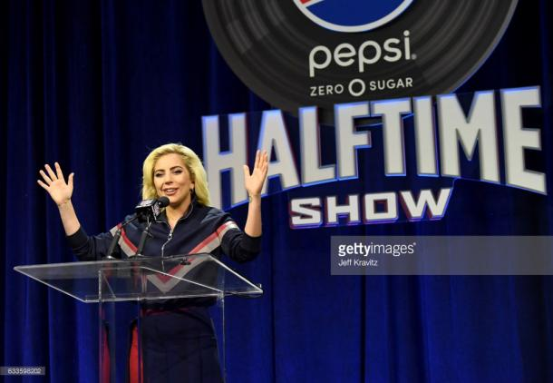 Lady Gaga will performance on the show of Super Bowl