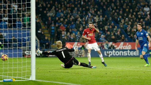 La rete di Mata, che ha suggellato il successo dei Devils. Fonte foto: premierleague.com