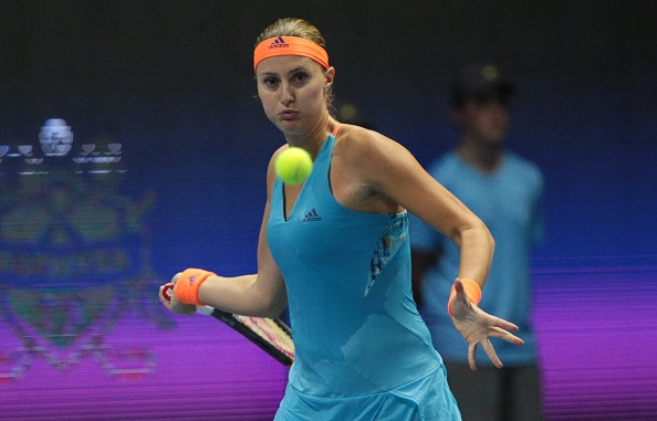 Mladenovic takes control and earns the insurance break | Photo: Sergey Mihailicenko/Anadolu Agency/Getty Images