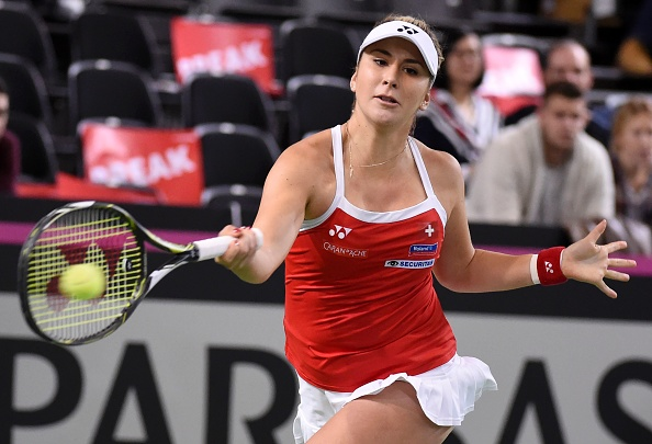 Bencic fights to take one of the breaks back | Photo: Robert Hradil/Iconsports Wire via Getty Images