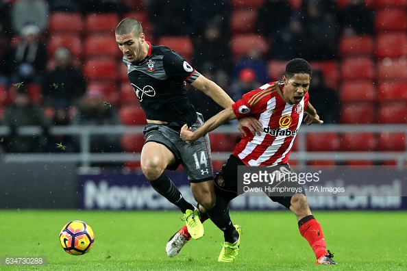 Romeu has been outstanding for the Saints in recent weeks. Photo: Getty.