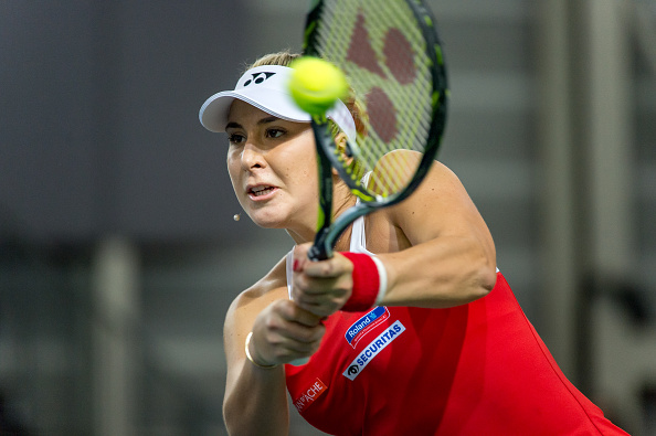 Bencic struggles to break through | Photo: Robert Hradil/Iconsports Wire via Getty Images