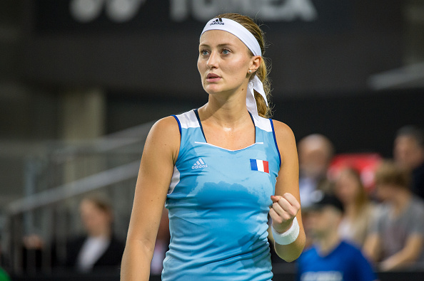 Mladenovic was off to a great start | Photo: Robert Hradil/Iconsports Wire via Getty Images