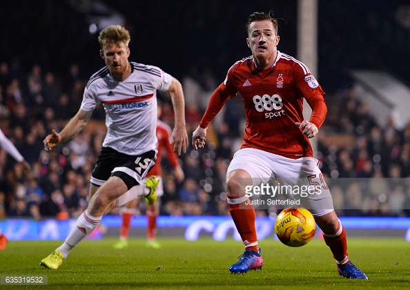 McCormack has hardly featured for Forest since his loan move. (picture: Getty Images / Justin Setterfield)