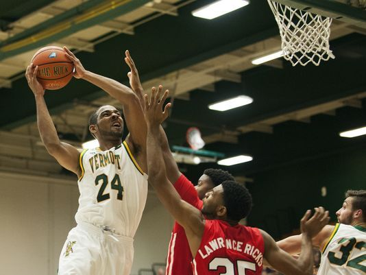 Wills is a dominant defensive stopper for Vermont/Photo: Brian Jenkins/Free Press