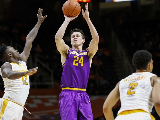 Mathews took Lipscomb to their best season in almost a decade/Photo: Lipscomb Athletics