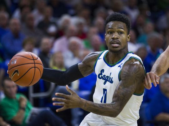 Goodwin leads Florida Gulf Coast in scoring and assists and is second in rebounding/Photo: Katie Klann/Naples Daily News