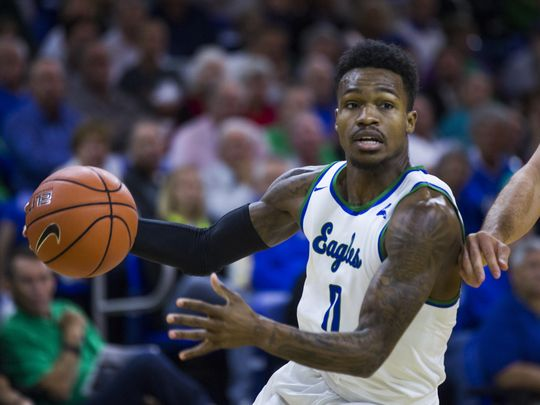 Goddwin led a powerful Florida Gulf Coast squad to their first outright regular season title in school history/Photo: Katie Klann/Naples Daily News