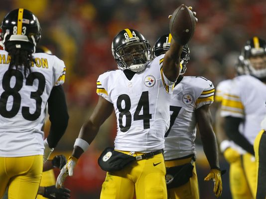 Brown is third on the Steelers all-time receptions list | Source: Jay Biggerstaff/USA TODAY Sports