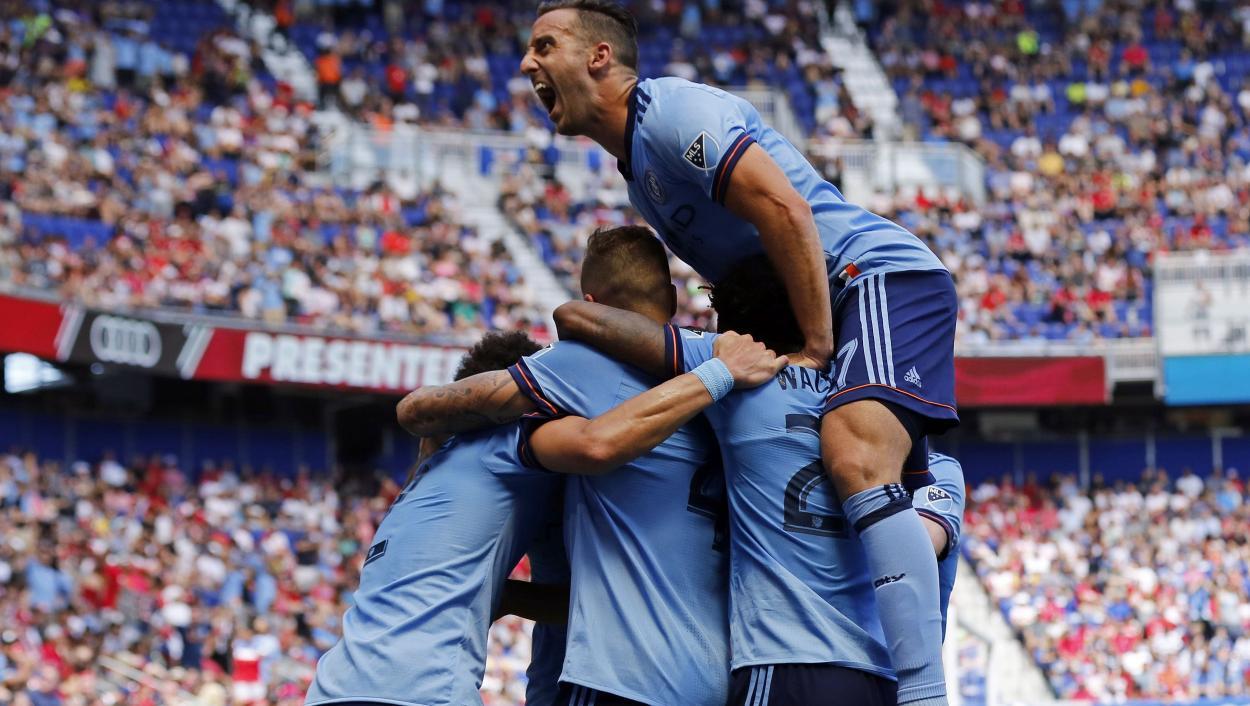 NCYC celebra un gol en el Hudson River Derby (usatoday.com)
