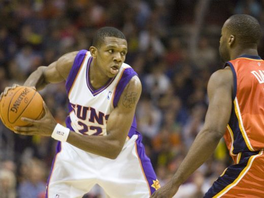 James Jones (22) as a member of the Phoenix Suns |Dec. 15, 2006. Source: David Wallace / The Arizona Republic|