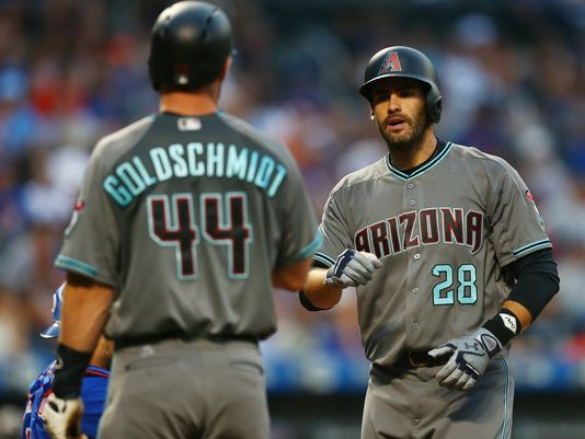 Martinez has been the perfect compliment to Goldschmidt and the Diamondbacks offense since his acquisition from Detroit/Photo: Mike Stobe/Getty Images