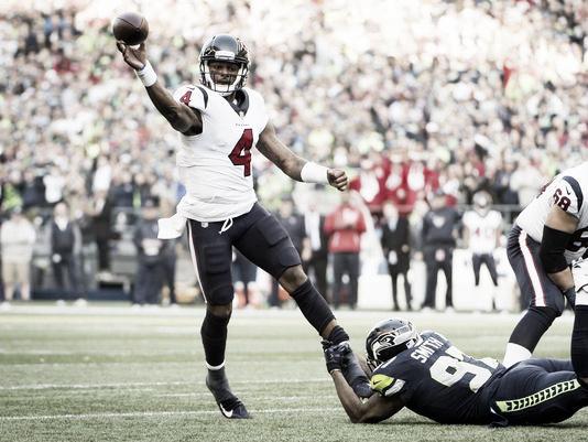 Su mejor partido hasta el momento fue contra ni más ni menos que los Seahawks | Foto: Seahawks.com