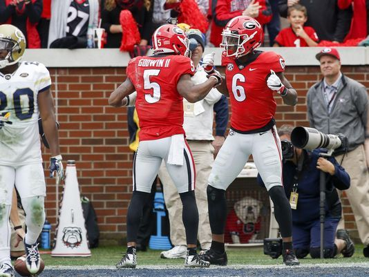 The Bulldogs control their own destiny heading into the SEC Championship Game on Saturday despite being ranked seventh/Photo: Brett Davis/USA Today Sports